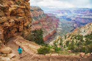 Most Traveled Hiking Trail at Grand Canyon
