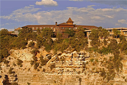El Tovar Hotel at the Grand Canyon South Rim - Grand Canyon National Park Lodge