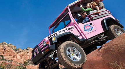 Pink Jeep Tours In Sedona And Grand Canyon