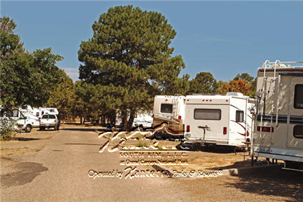 Grand Canyon National Park trailer village at Market Plaza