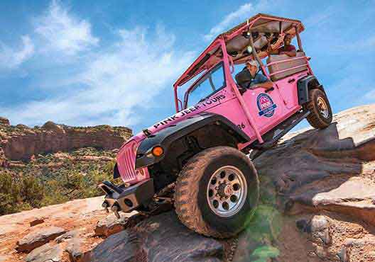 Pink Jeep Tours A Guided Full Rim Experience